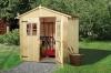 Gartenhaus 19 mm